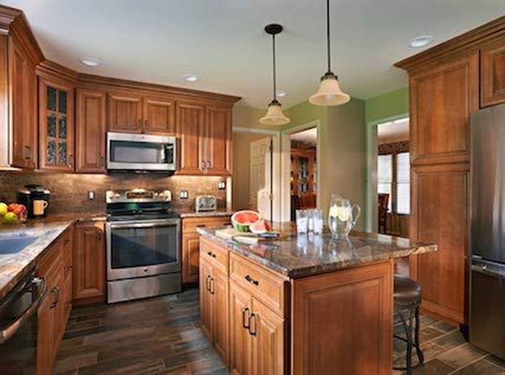 Hottest Wood Kitchen Set Design Ideas That You Can Try 11