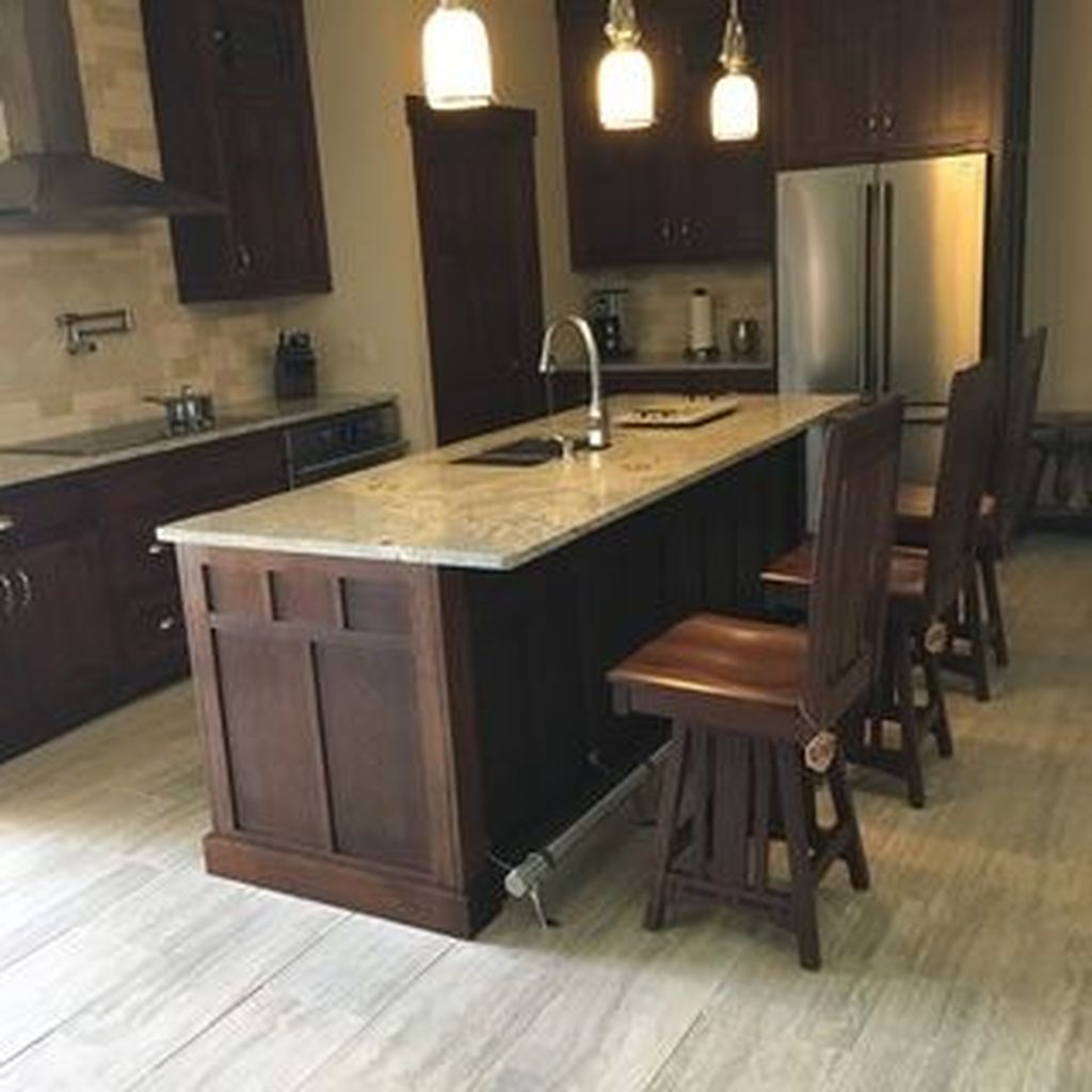 Hottest Wood Kitchen Set Design Ideas That You Can Try 20