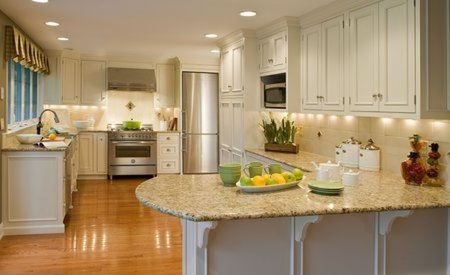 Hottest Wood Kitchen Set Design Ideas That You Can Try 26