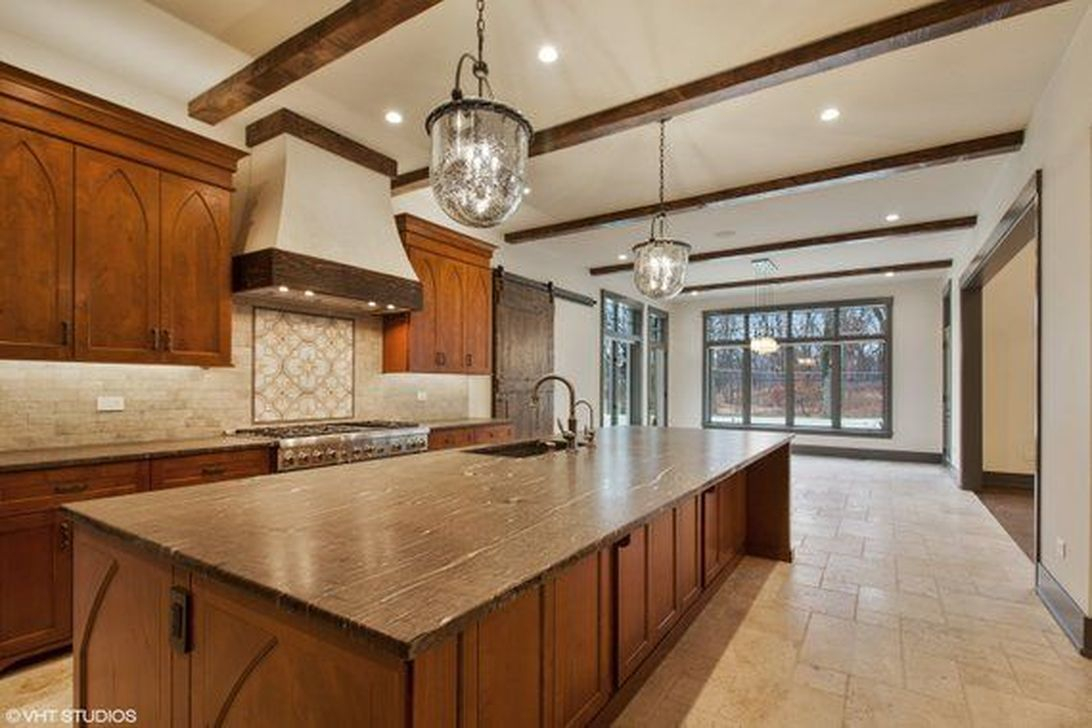 Hottest Wood Kitchen Set Design Ideas That You Can Try 32