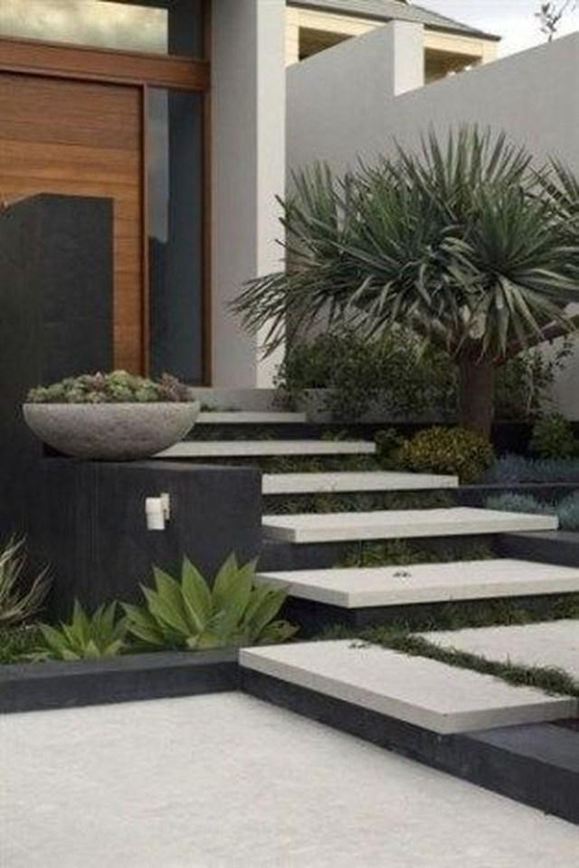 Inspiring Minimalist Frontyard Design Ideas To Try Asap 23