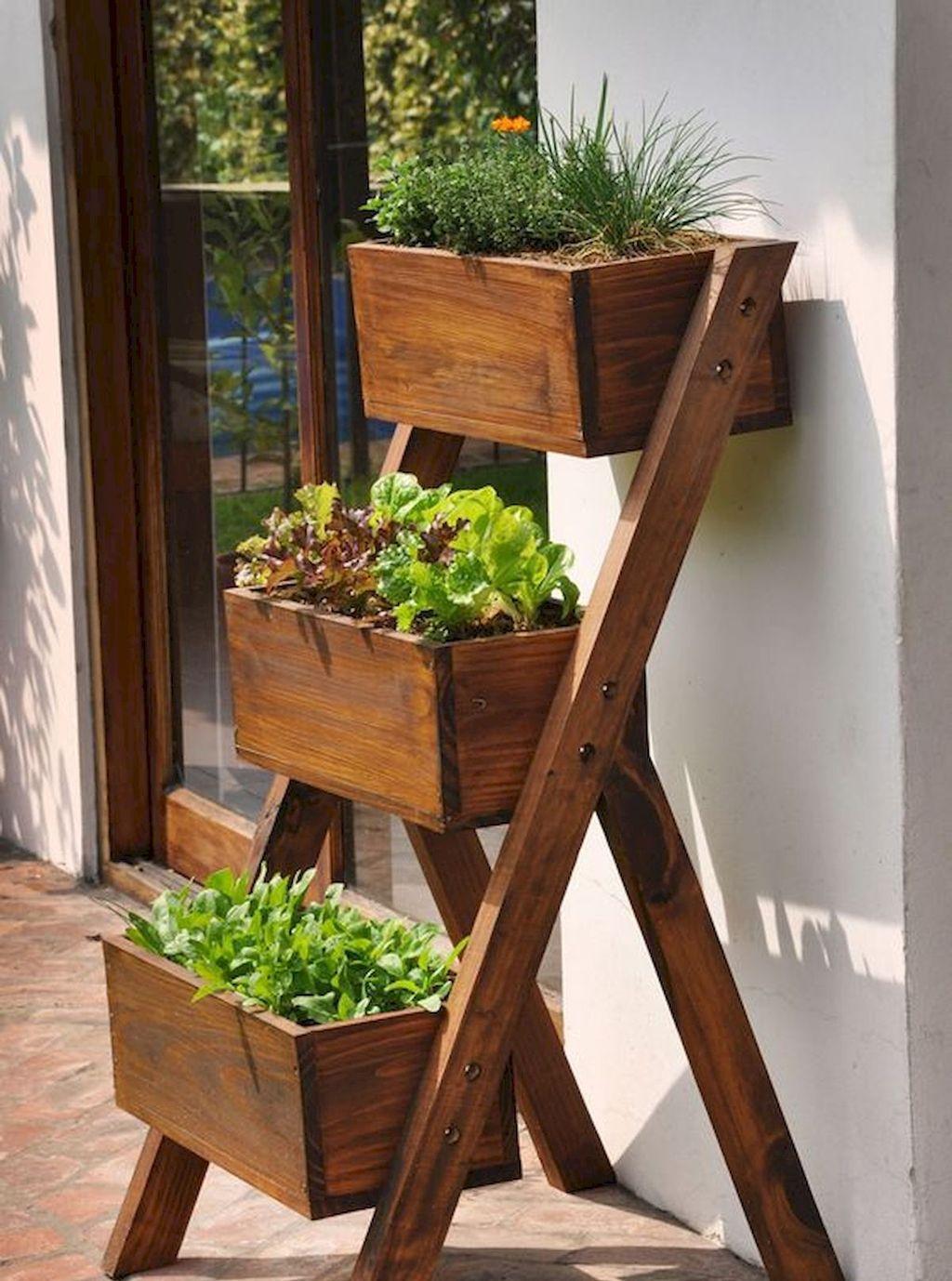 Lovely Vegetable Garden Decoration Ideas For You 17