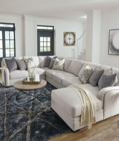 Luxury Living Room Design Ideas With Gray Wall Color 04