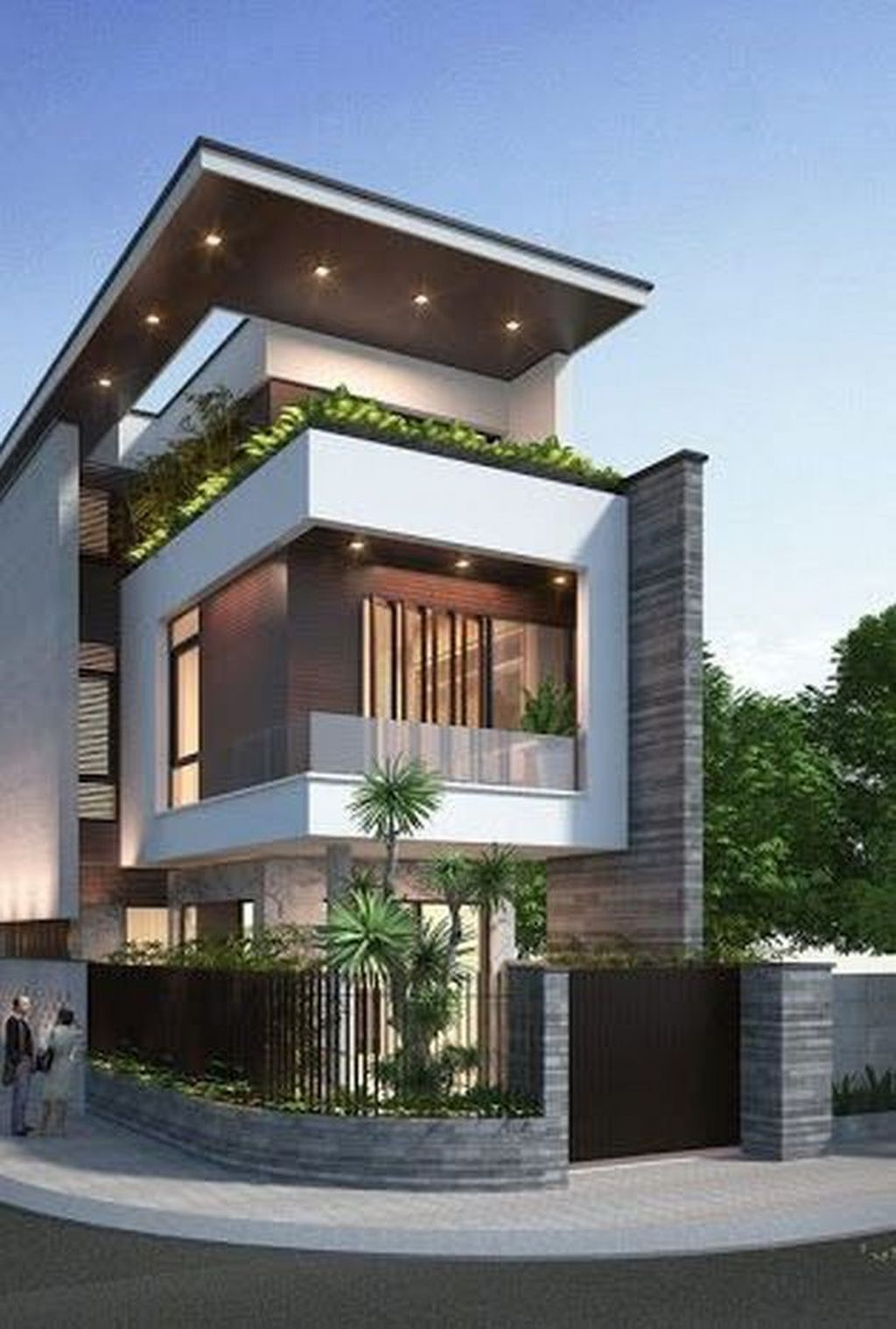 Magnificient Exterior Design Ideas To Try Asap 25