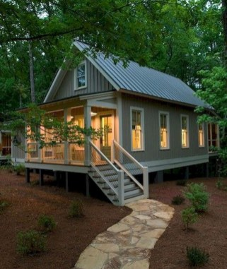 Perfect Small Cottages Design Ideas For Tiny House That Trend This Year 27