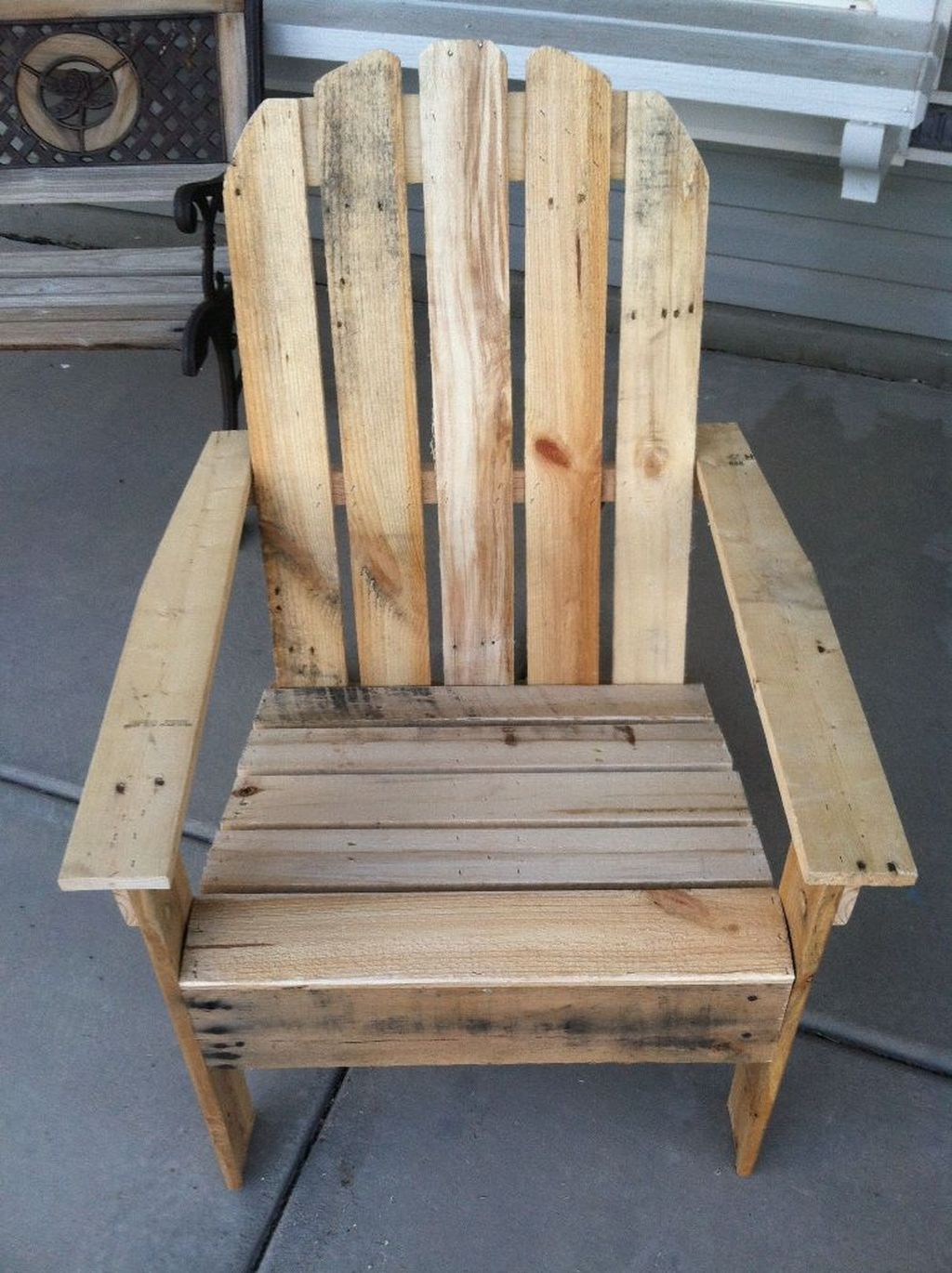 Popular Diy Chair Pallet Design Ideas That You Can Try 20