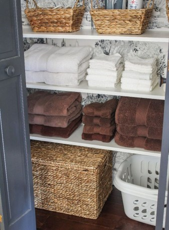 Smart Linen Closet Organization Makeover Ideas To Try This Year 14