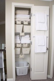 Smart Linen Closet Organization Makeover Ideas To Try This Year 23