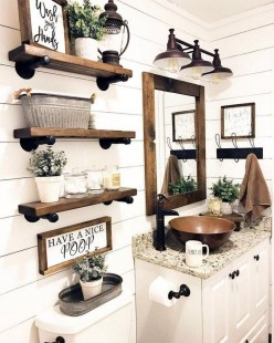 Spectacular Small Bathroom Organization Tips Ideas To Try Now 11