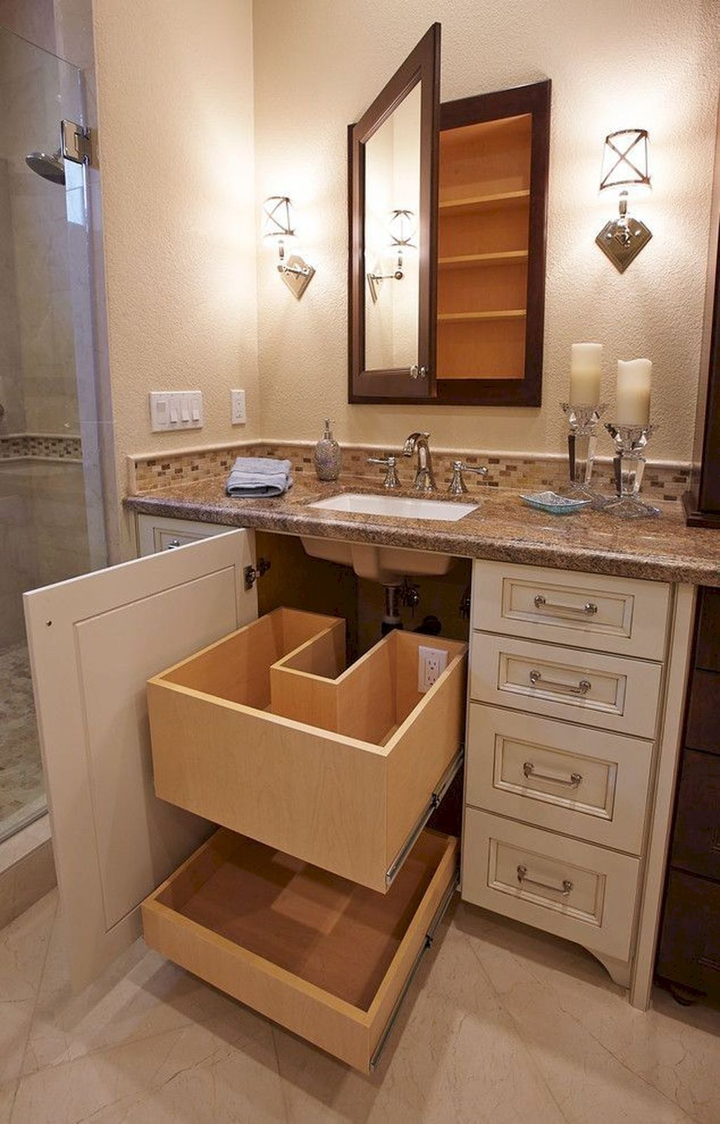 Spectacular Small Bathroom Organization Tips Ideas To Try Now 15