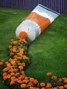 Stylish Diy Painted Garden Decoration Ideas For A Colorful Yard 02
