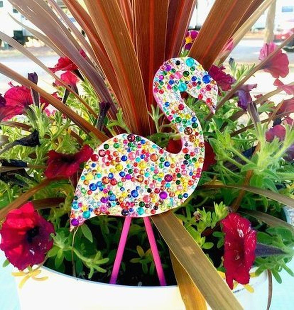 Stylish Diy Painted Garden Decoration Ideas For A Colorful Yard 21