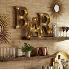 Trendy Pallet Mini Bar Design Ideas To Try 10
