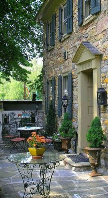 Captivating French Country Patio Ideas That Make Your Flat Look Great 14