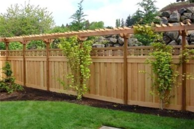 Charming Privacy Fence Design Ideas For You 02