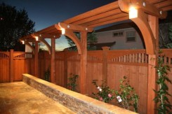 Charming Privacy Fence Design Ideas For You 05