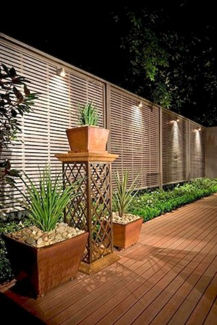 Charming Privacy Fence Design Ideas For You 10