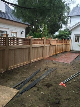 Charming Privacy Fence Design Ideas For You 13