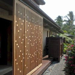 Charming Privacy Fence Design Ideas For You 32
