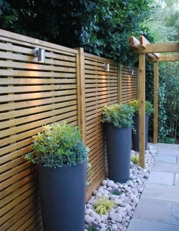 Charming Privacy Fence Design Ideas For You 34