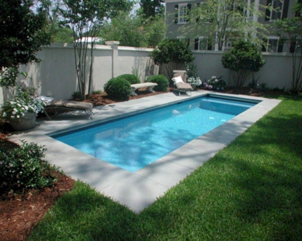Excellent Small Swimming Pools Ideas For Small Backyards 11