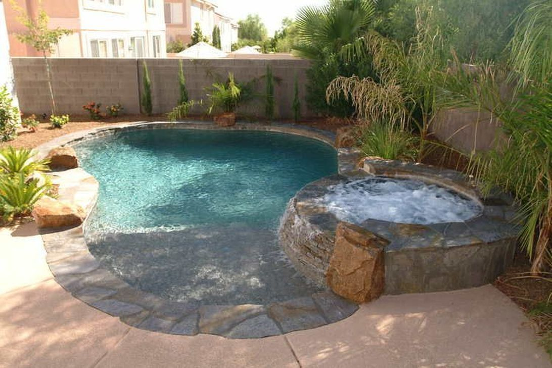 Excellent Small Swimming Pools Ideas For Small Backyards 15