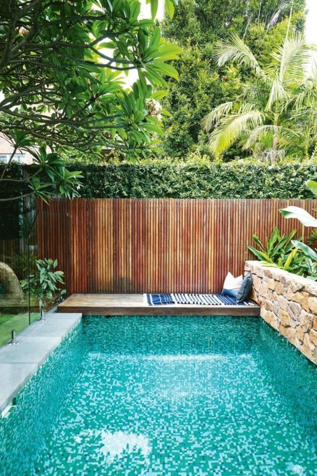 Excellent Small Swimming Pools Ideas For Small Backyards 36