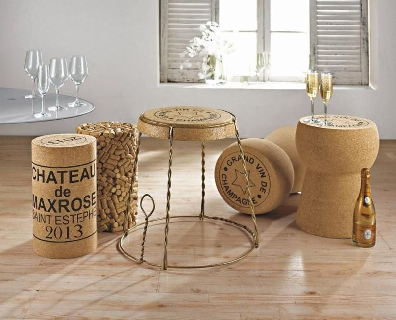 Favored Cork Furniture Accessories Ideas To Try 15