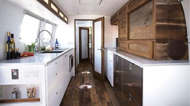 Impressive Airstream Interior Design Ideas To Try 21