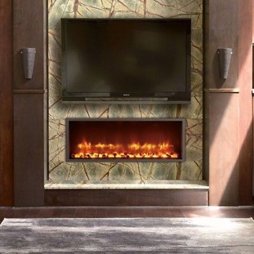 Luxury Clad Cover Fireplace Ideas To Try 02