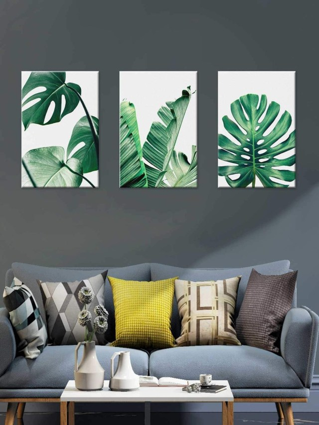 Splendid Tropical Leaf Decor Ideas For Home Design 03