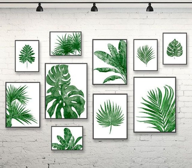Splendid Tropical Leaf Decor Ideas For Home Design 08