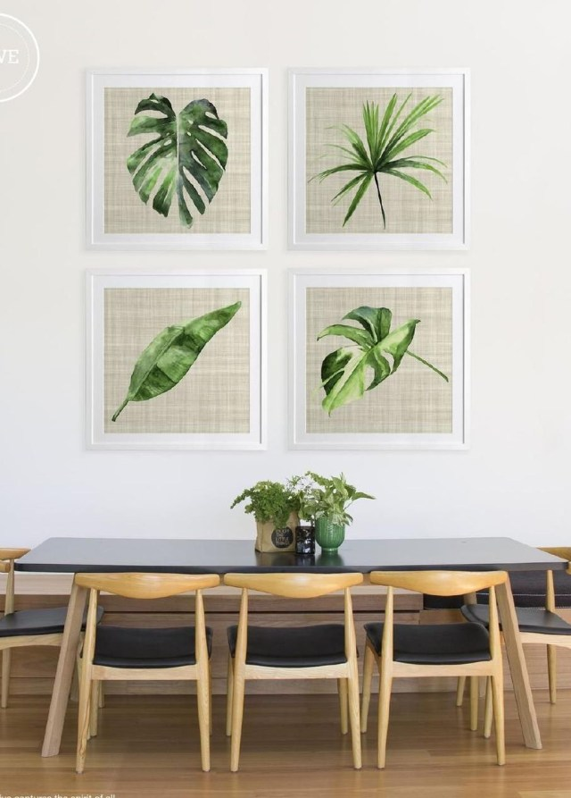 Splendid Tropical Leaf Decor Ideas For Home Design 37