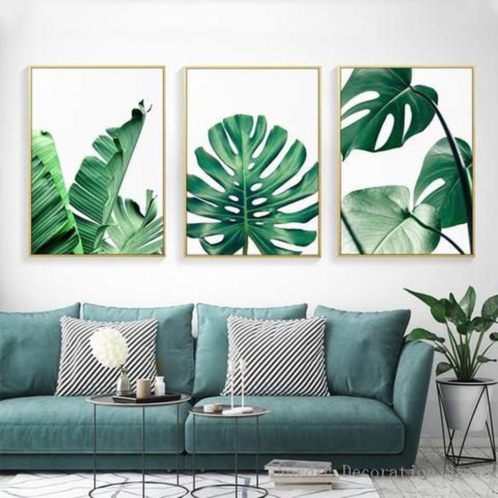 Splendid Tropical Leaf Decor Ideas For Home Design 42