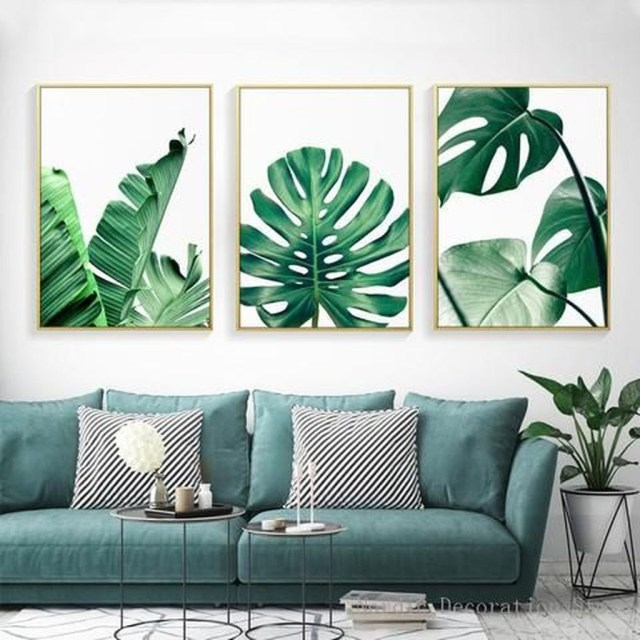 Splendid Tropical Leaf Decor Ideas For Home Design 42
