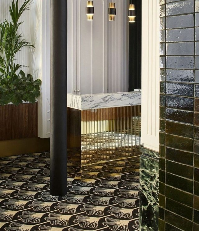 Vintage Pattern Interior Design Ideas To Try 36