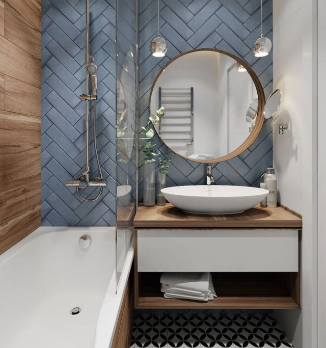 Vintage Pattern Interior Design Ideas To Try 37