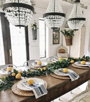 Adorable Fall Farmhouse Dining Room Decor Ideas 15