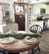 Adorable Fall Farmhouse Dining Room Decor Ideas 26