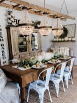 Adorable Fall Farmhouse Dining Room Decor Ideas 31