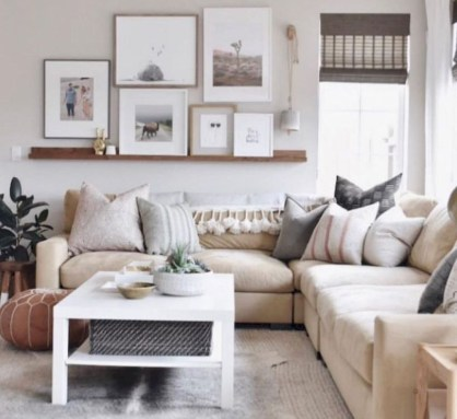 Casual Living Room Wall Decor Ideas That Looks Cool 12