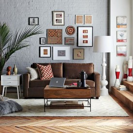 Casual Living Room Wall Decor Ideas That Looks Cool 31