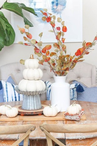 Dreamy Fall Home Tour Décor Ideas To Inspire You 07