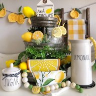 Elegant Summer Farmhouse Decor Ideas For Home 17