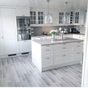 Fancy White Kitchen Cabinets Ideas To Try Asap 05