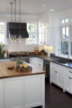 Fancy White Kitchen Cabinets Ideas To Try Asap 09