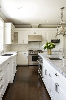 Fancy White Kitchen Cabinets Ideas To Try Asap 13