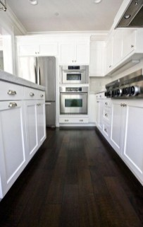 Fancy White Kitchen Cabinets Ideas To Try Asap 14