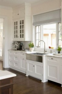 Fancy White Kitchen Cabinets Ideas To Try Asap 26