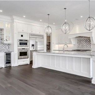 Fancy White Kitchen Cabinets Ideas To Try Asap 27